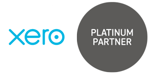 Xero online accounting platinum partners logos