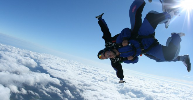 Jumping out of a plane at 10,000ft!