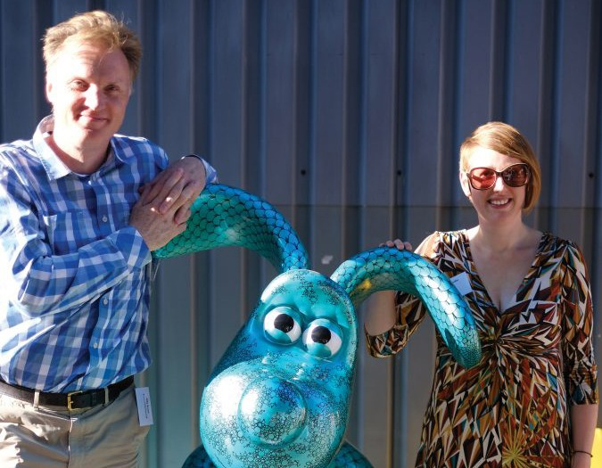 Evans & Partners sponsor a Gromit on the Bristol trail